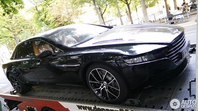 First Aston Martin Lagonda Taraf spotted!