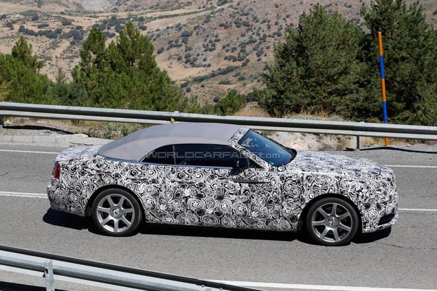 Rolls-Royce Dawn is bijna klaar voor zijn introductie