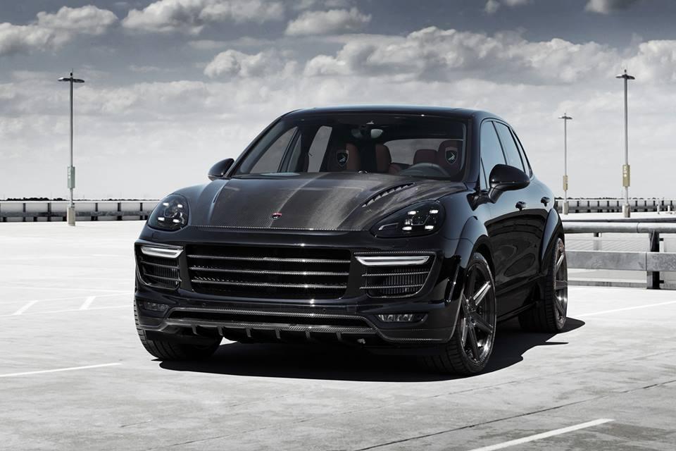 Used Porsche Cayenne >> Russian tuner TopCar renewed Vantage bodykit