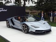 Lamborghini proudly presents the Centenario Roadster