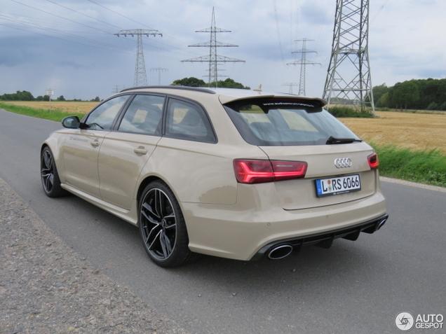 Audi Exclusive maakt deze RS6... exclusief