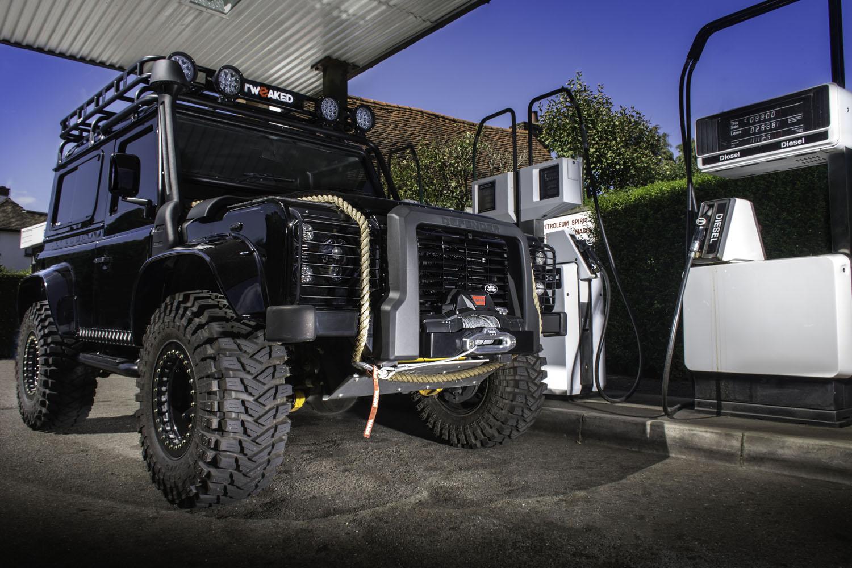 Tweaked Automotive Builds Land Rover Defender 90 Spectre