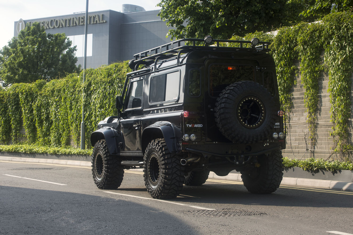 Tweaked Automotive Builds Land Rover Defender 90 Spectre