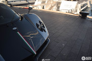 Tucked away in the harbor, Pagani Zonda C12