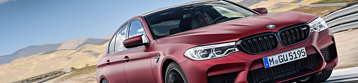 Official: The new BMW M5 (G30)