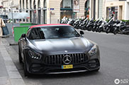 First Spot:Mercedes-AMG GT C Roadster Edition 50