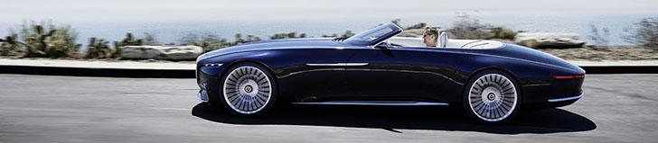 Stunning: Vision Mercedes-Maybach 6 Cabriolet