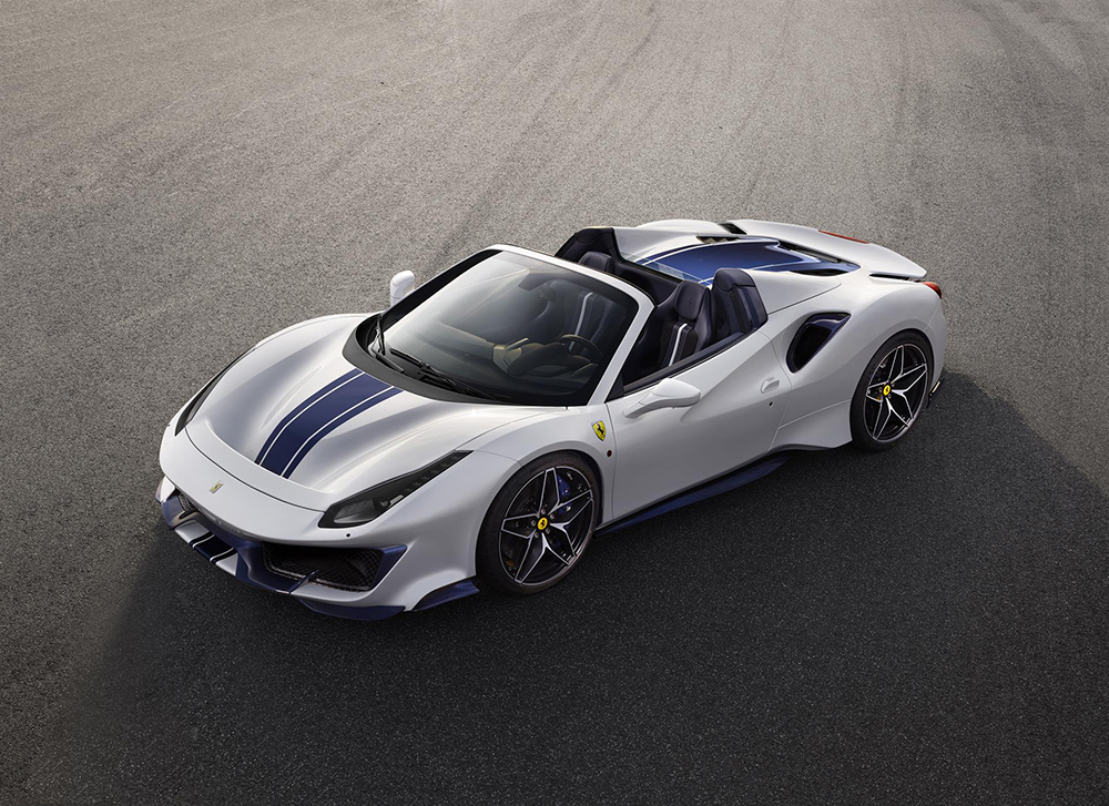 Ferrari is presenting the 488 Pista Spider