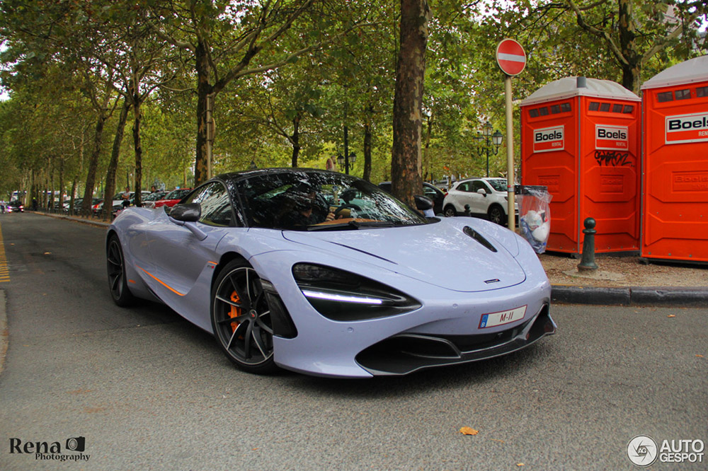 McLaren 720S kreeg prachtige behandeling bij MSO