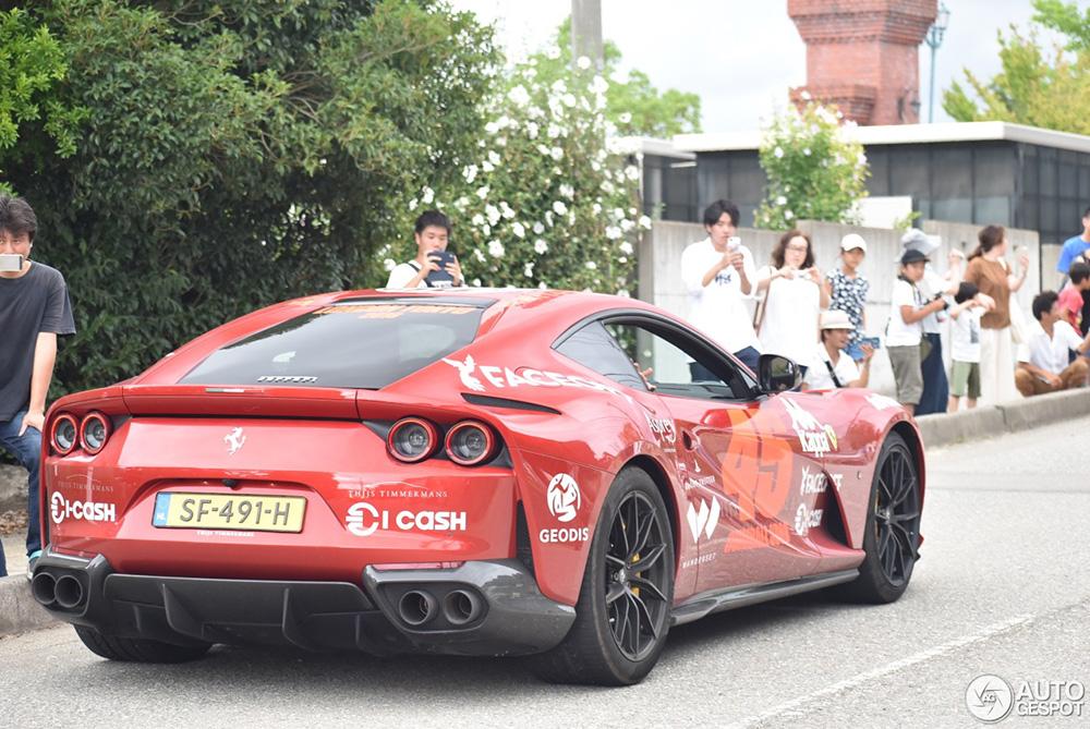 Nederlandse Ferrari geniet van aandacht in Japan