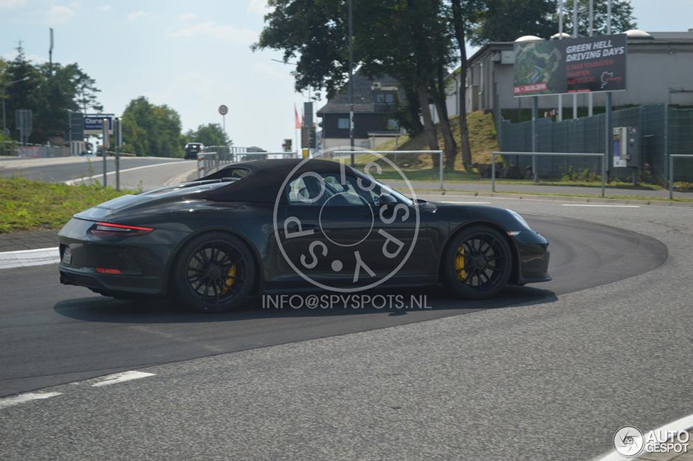 Nog even en de Porsche 911 Speedster is klaar