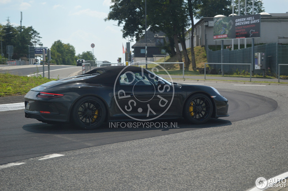 Nog even en de Porsche 911 Speedster is klaar