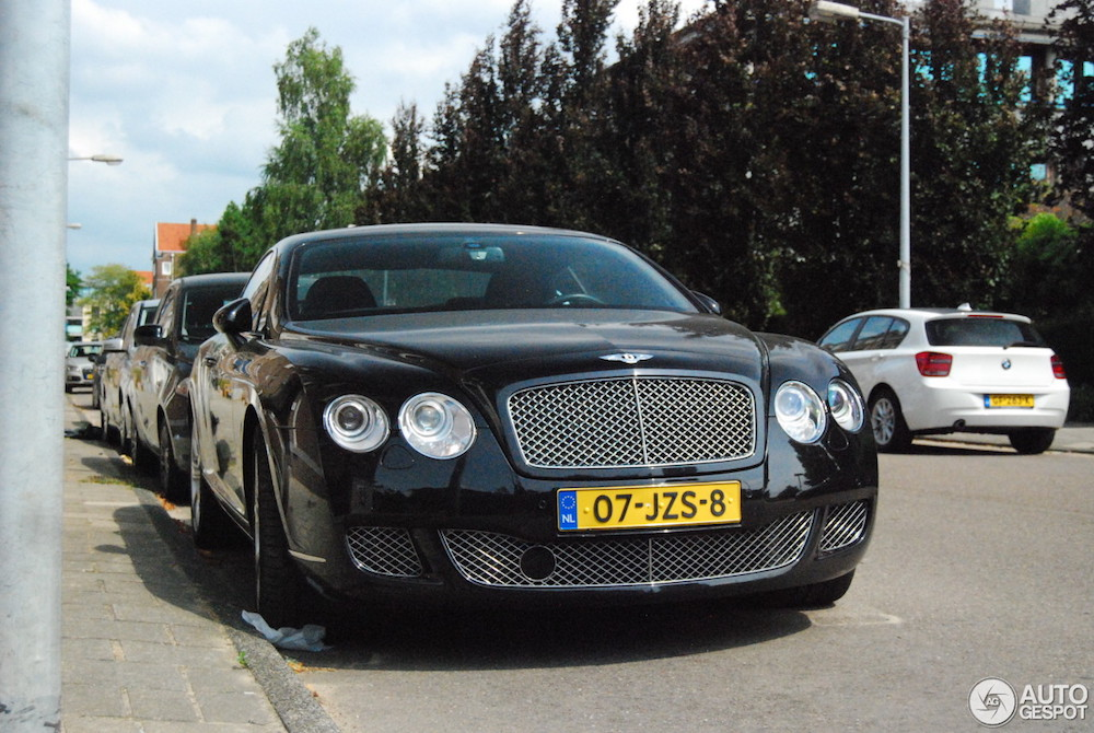 Spot van de dag: Bentley Continental GT!