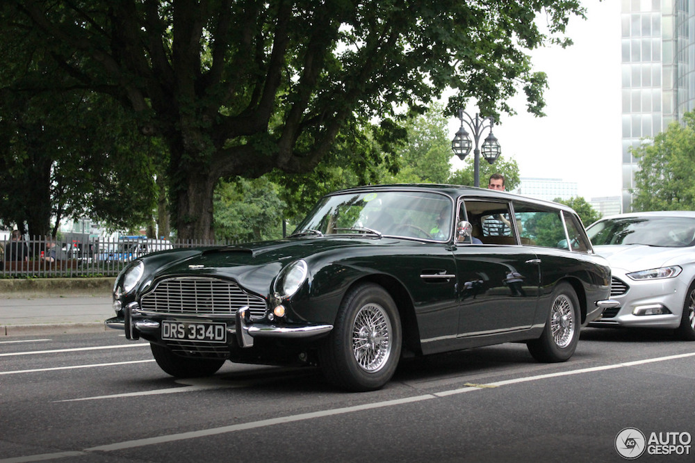 Wat is dit dan: Aston Martin DB6 Shooting Brake