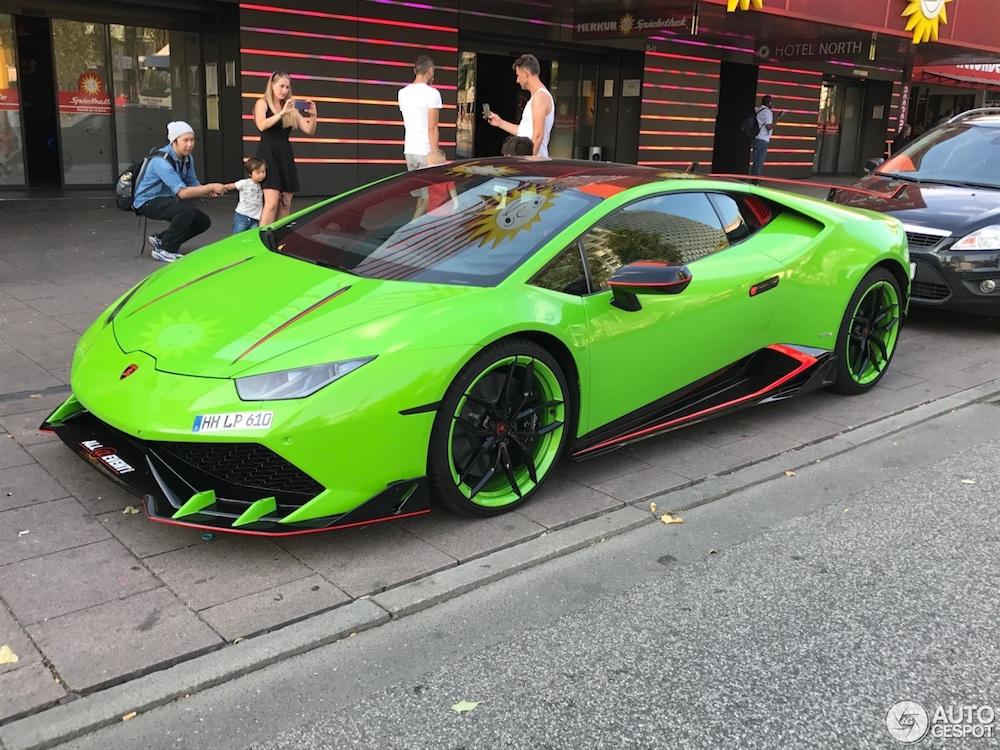 Goede smaak is niet te koop, Lamborghini Huracan