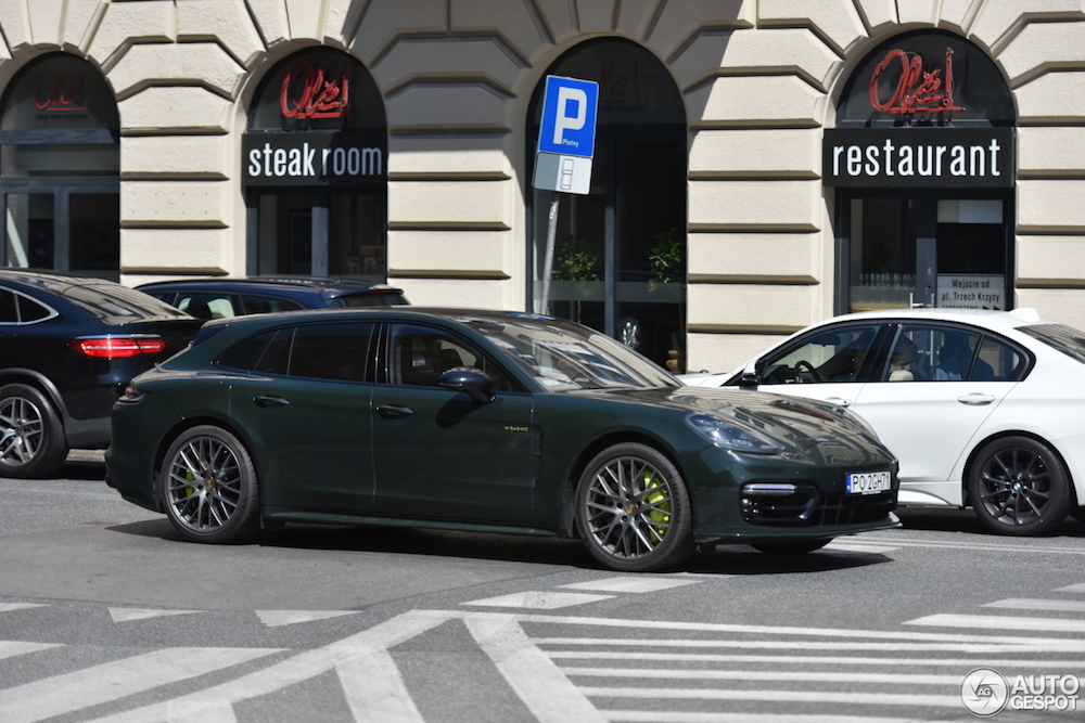 Porsche Panamera Turbo S E-Hybrid Sport Turismo gaat voor groen!