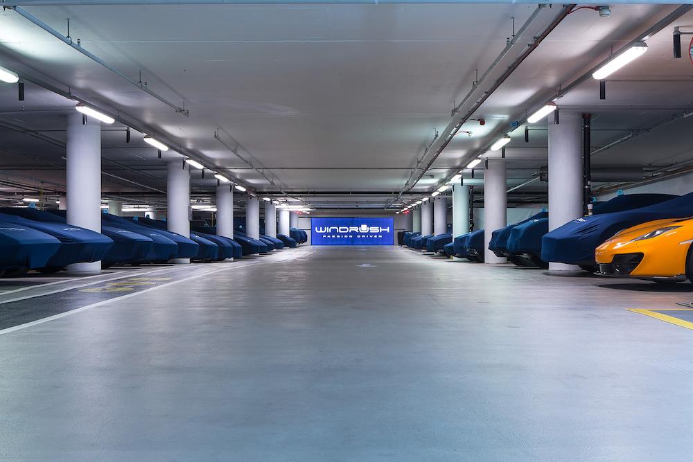 伦敦超跑名车终极安全屋