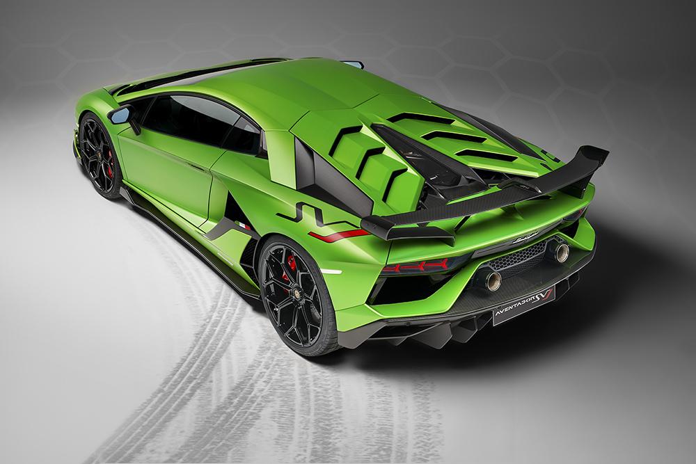 Official Lamborghini Aventador Svj
