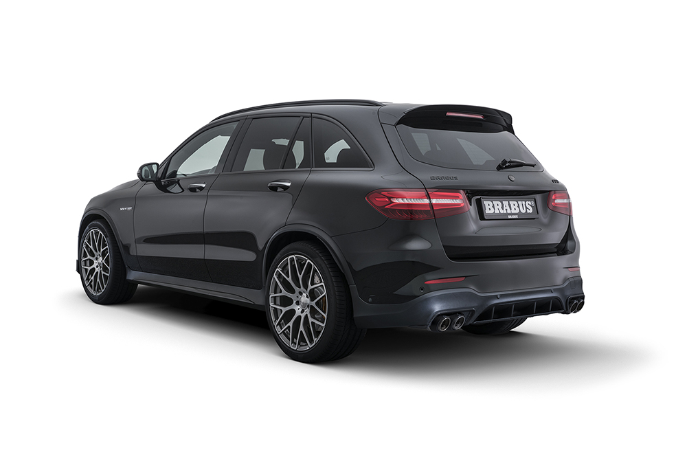 Brabus pompt de GLC 63 S even op