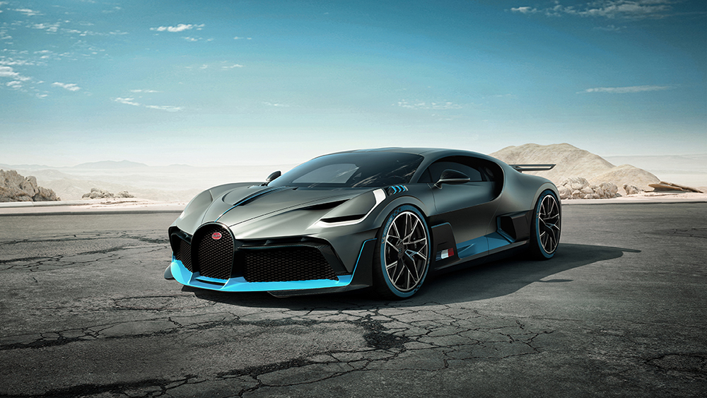 This is the Bugatti Divo!