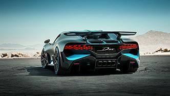Dit is dan de Bugatti Divo