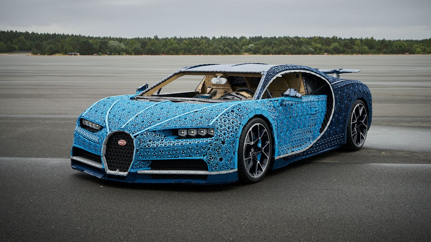 Lego Technic maakt de Bugatti Chiron levensecht