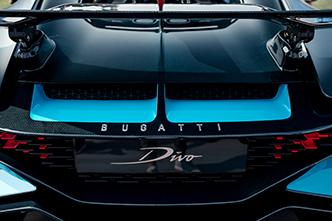 De Bugatti Divo in levende lijve