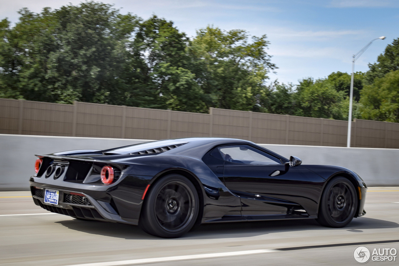 Ford GT 2017 gespot in Overland Park, Kansas