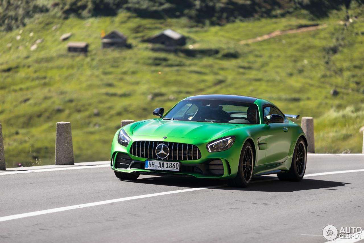 德国绿怪兽:马赛地 AMG GT R