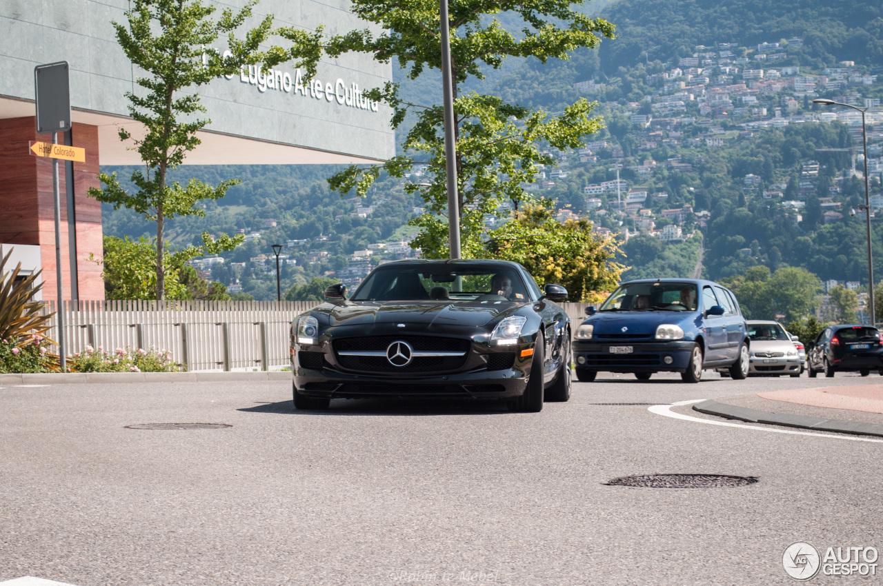 Mercedes-Benz SLS AMG is perfect reisgezelschap