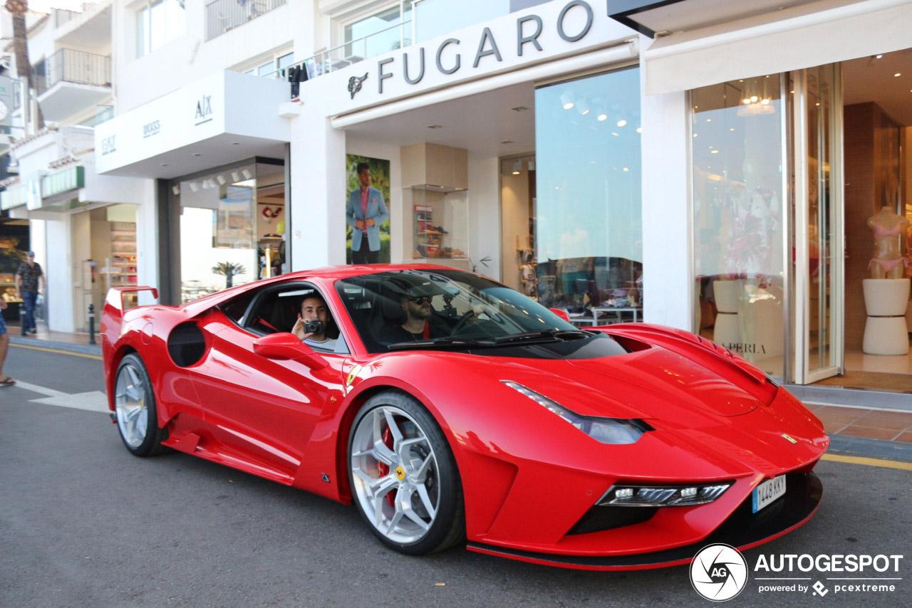 Oei, wie heeft deze Ferrari 488 GTB verkracht?