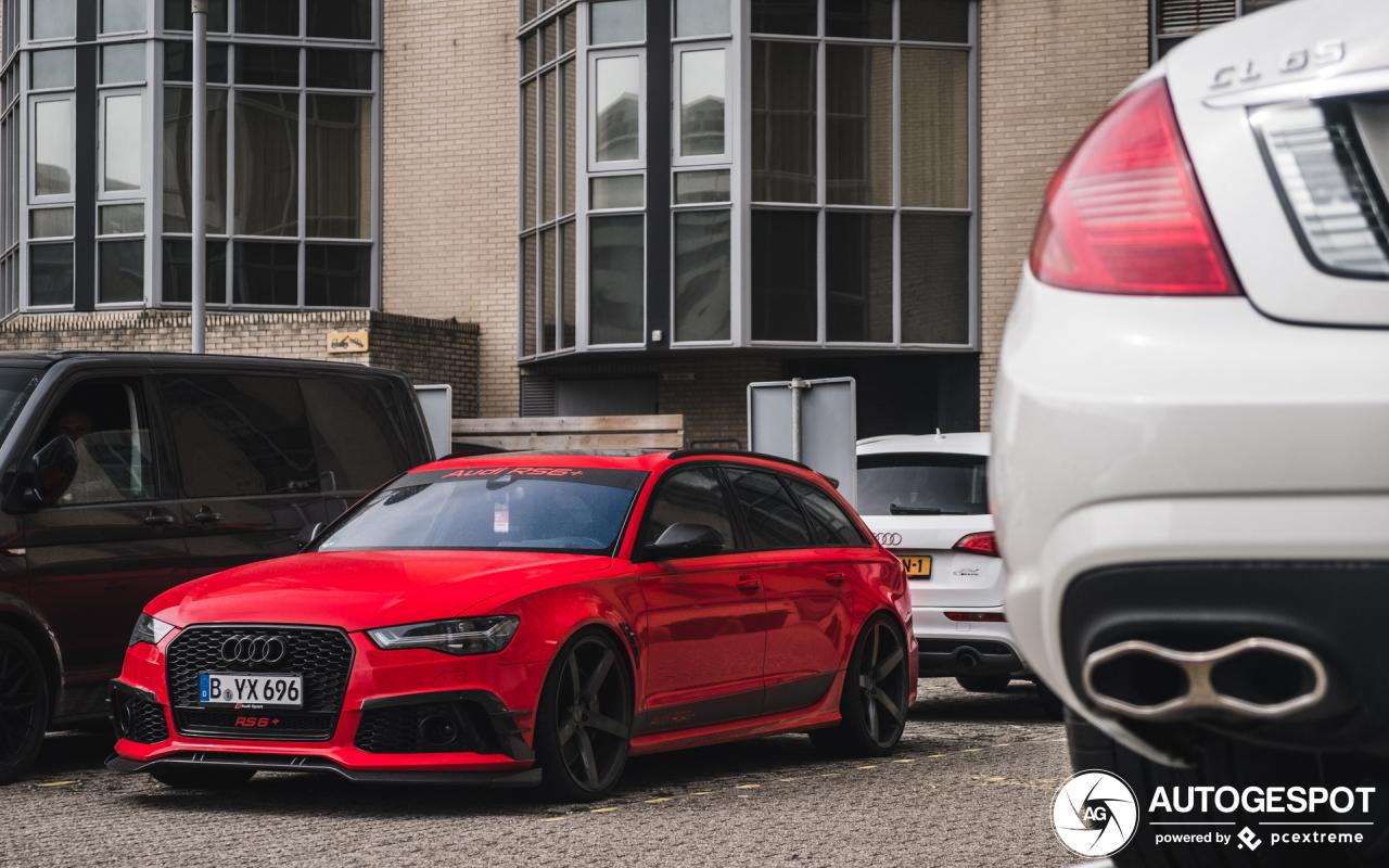 Spot van de dag: Audi ABT RS6 Plus Avant C7