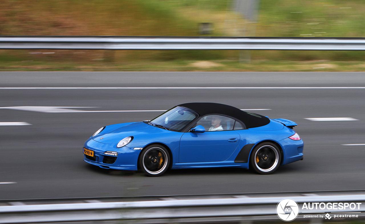 Spot van de dag: Porsche 997 Speedster