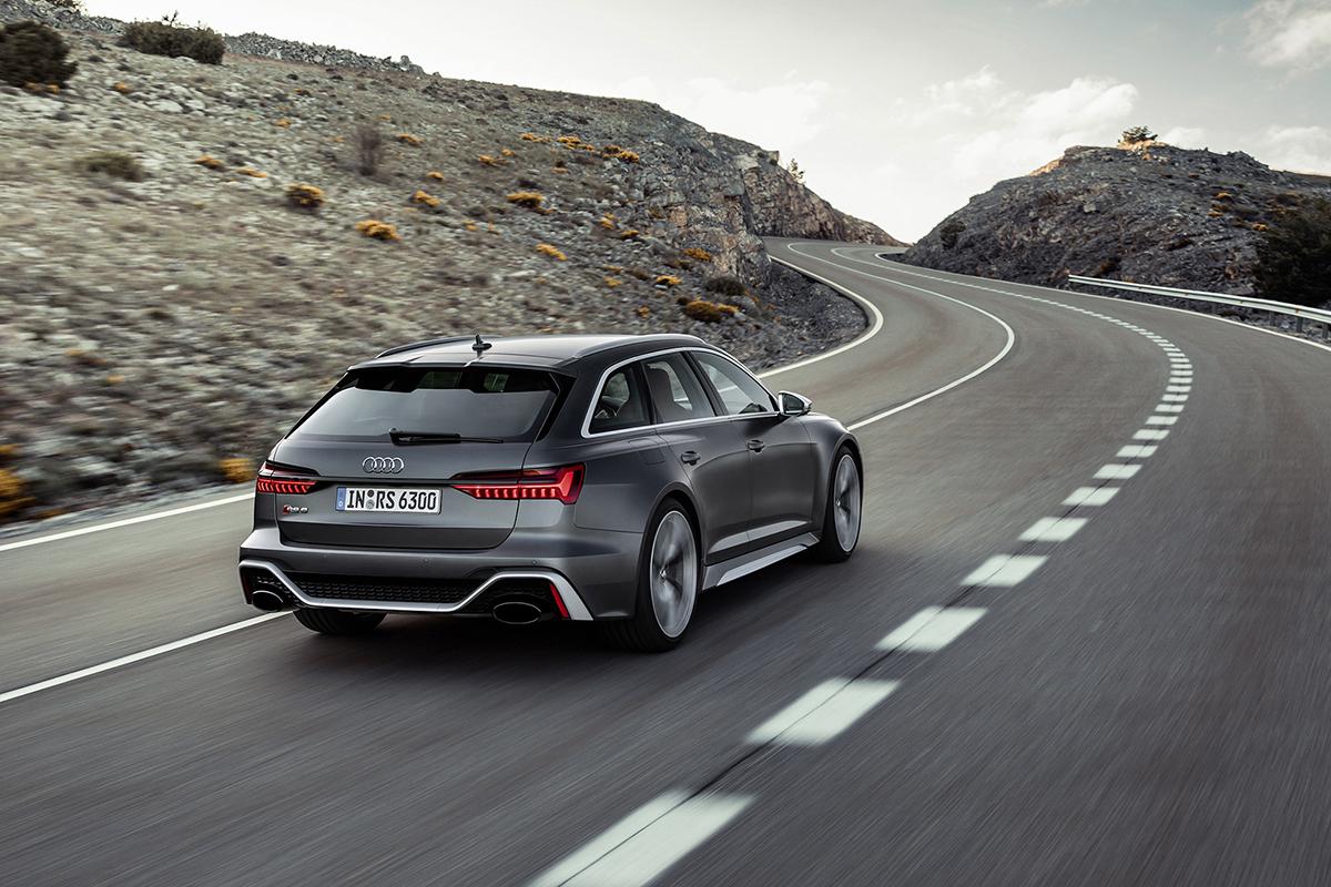 De nieuwe Audi RS6 is afgetraind en klaar om de strijd aan te gaan