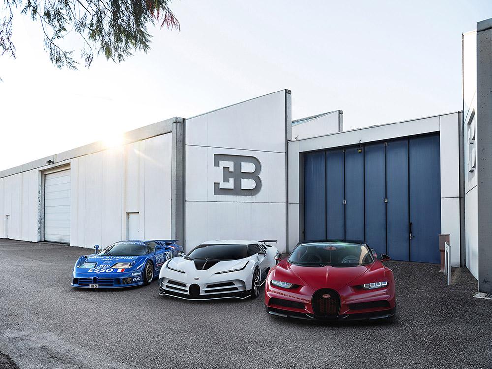 Bugatti Centodieci – tien exemplaren in uniek design