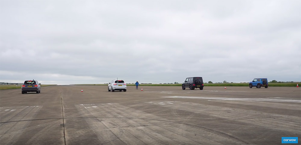 Filmpje: Bentayga neemt het op tegen G 63 AMG en Cayenne Turbo
