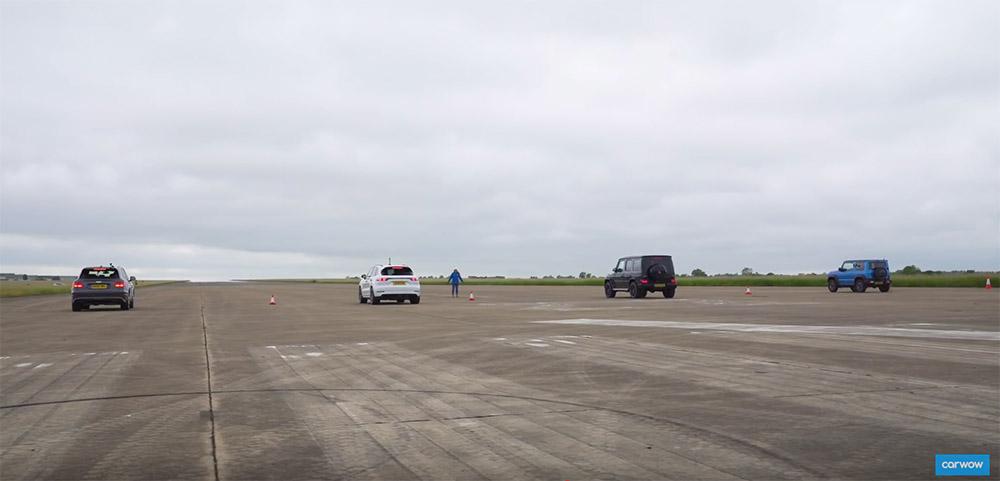 视频:宾利 Bentayga 扛上梅塞德斯-AMG G 63 和保时捷卡宴 Turbo