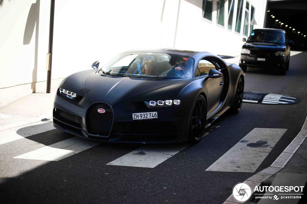 Bugatti Chiron 110 Ans maakt zijn debuut op Autogespot in Monaco