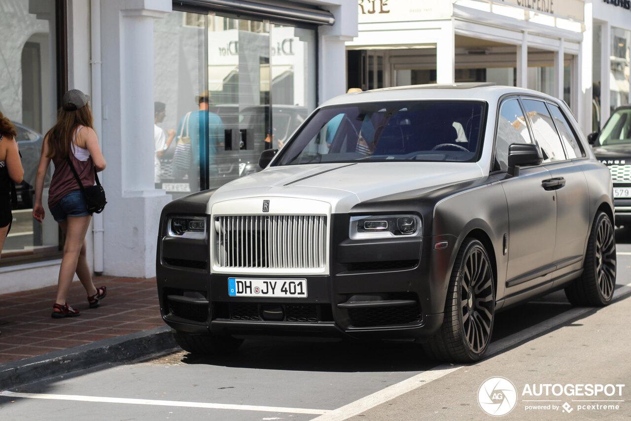 Rolls-Royce Cullinan door Mansory mag er best zijn