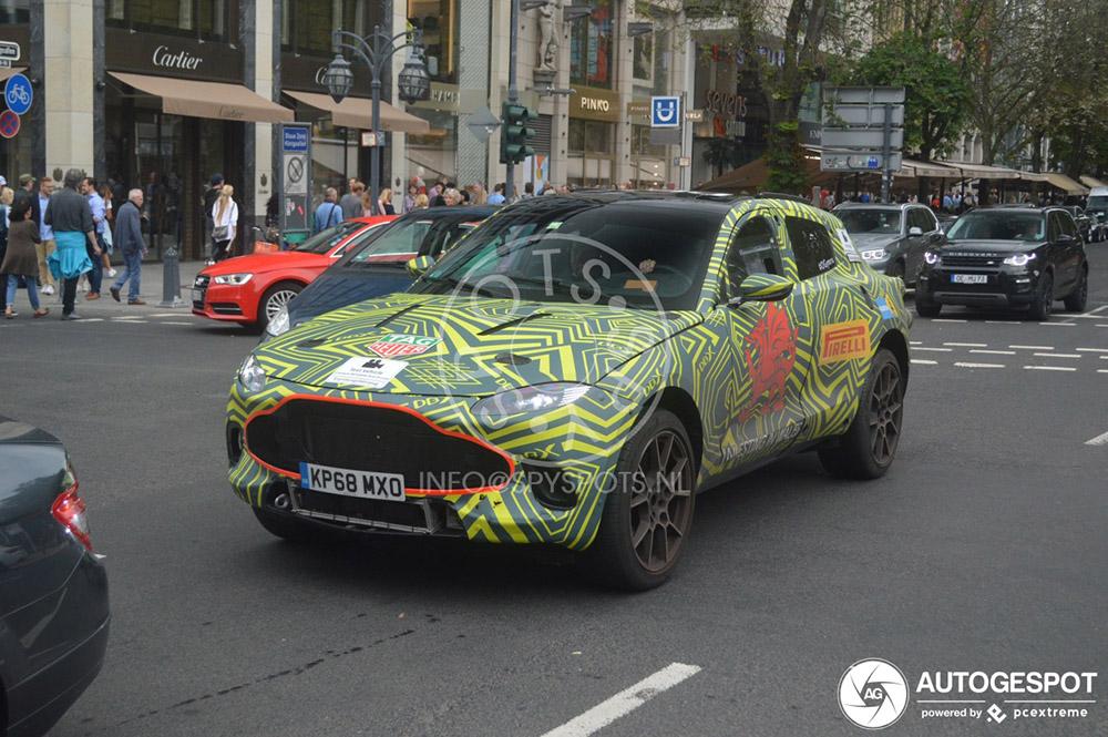 Aston Martin laat de Duitsers vast wennen aan de DBX