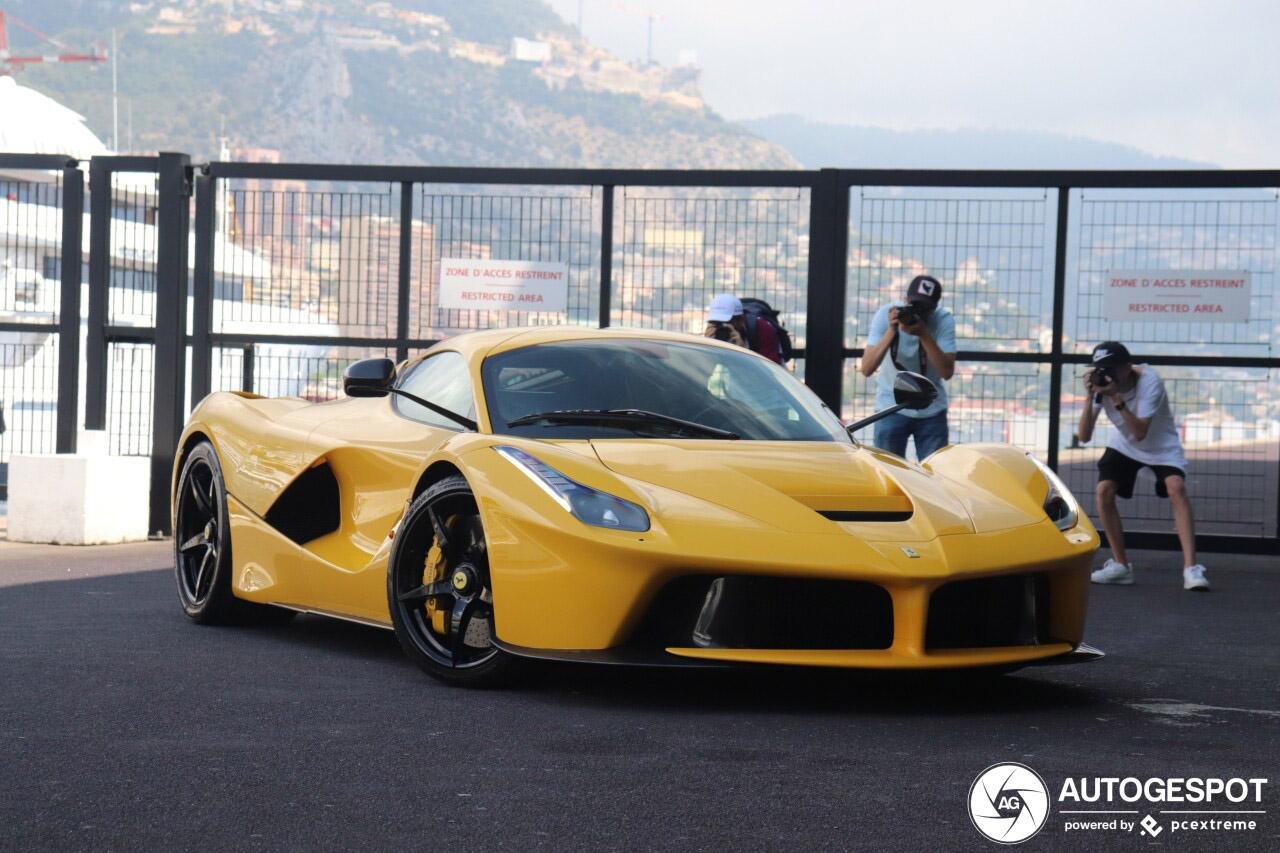 Met deze LaFerrari is Monaco de hotspot van de zomer