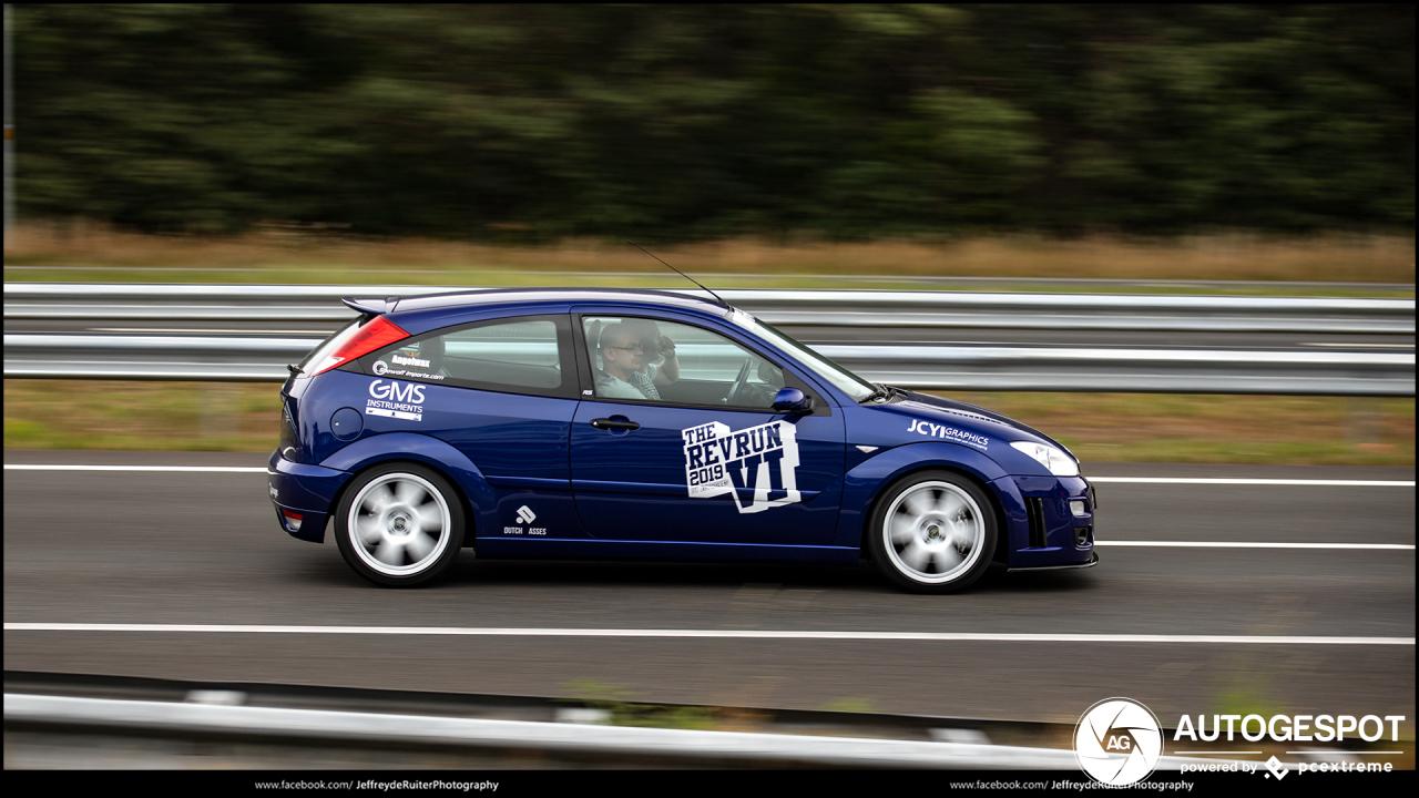 Allereerste Ford Focus RS is een rijdende legende