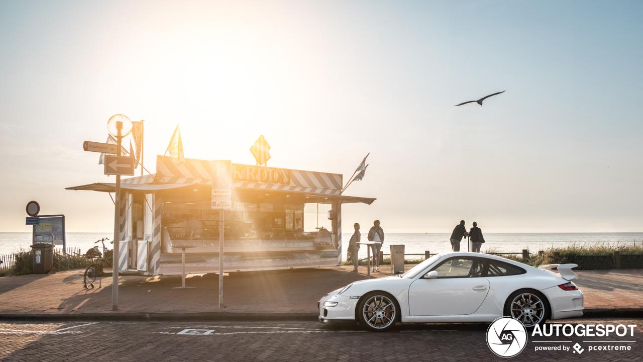 Spot van de dag: Porsche 997 GT3 Mki