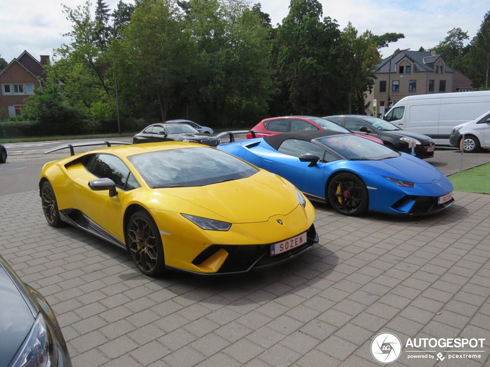 Lamborghini duo mag er zijn