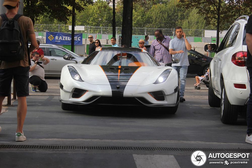 """""""B14"""" laat Koenigsegg Regera naar Parijs komen"""
