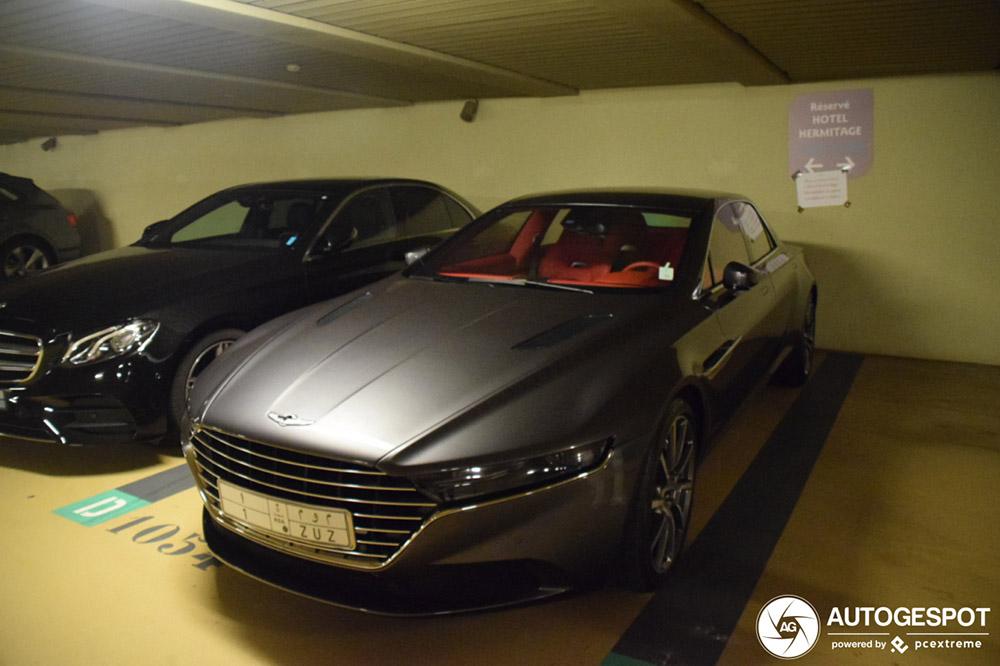 Deze Aston Martin Lagonda Taraf is weer terug