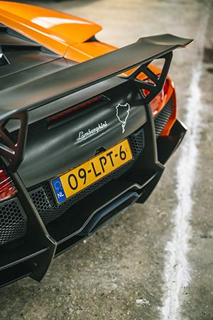 Lamborghini trio gewillig op de foto gezet