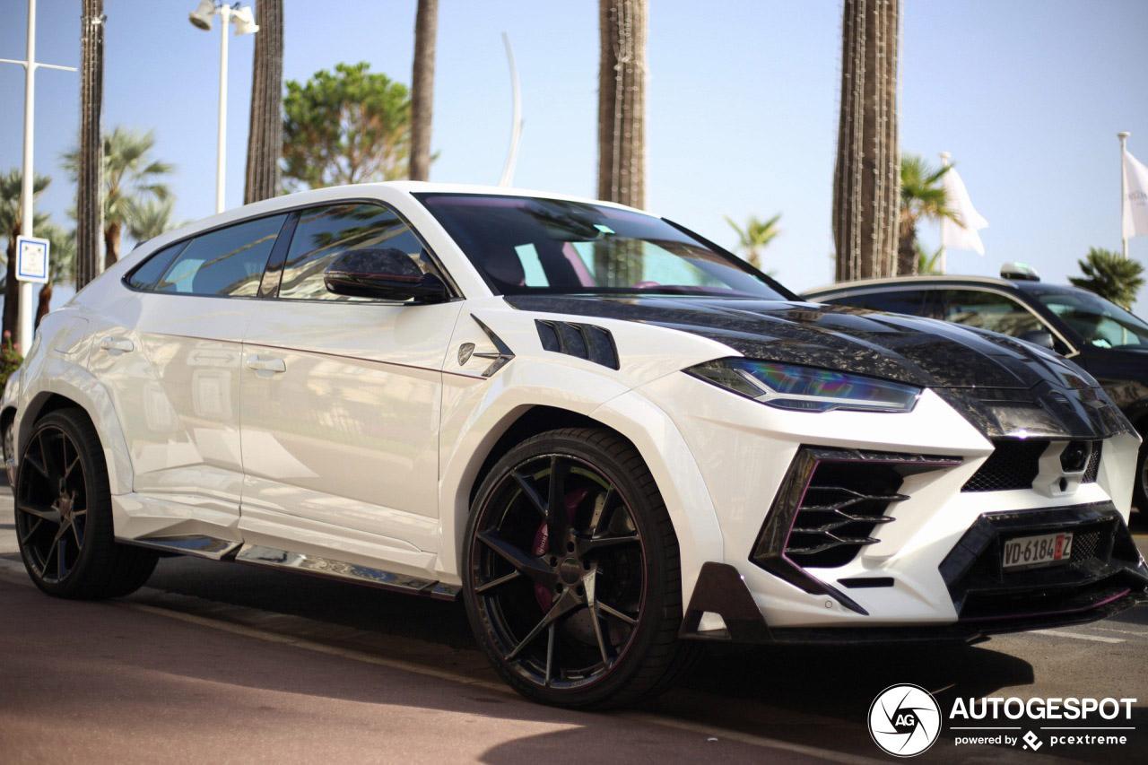 Lamborghini Urus Mansory Venatus nu in Cannes te spotten