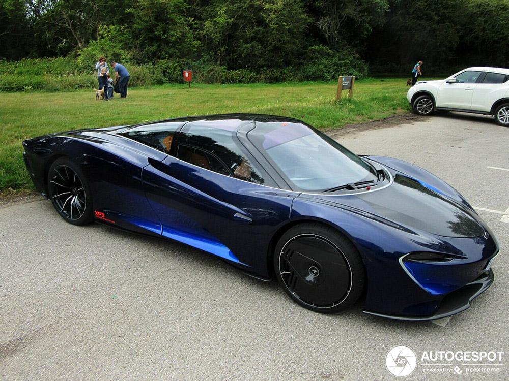Op straat: McLaren Speedtail XP3