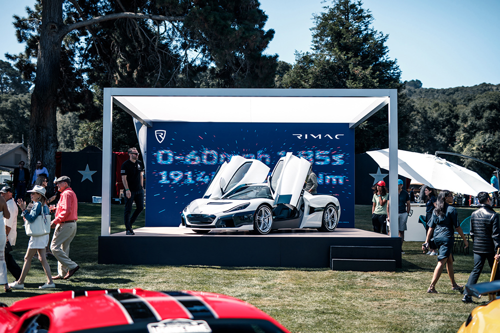 Event: an impression off The Quail during Monterey Car Week